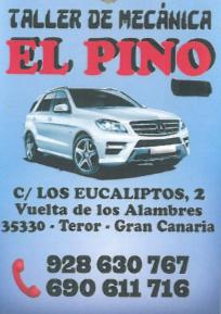 TALLER DE MECÁNICA EL PINO