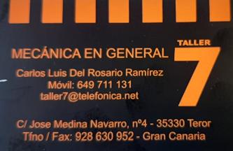 ELECTROMECÁNICA TALLER 7