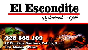 RESTAURANTE - GRILL EL ESCONDITE