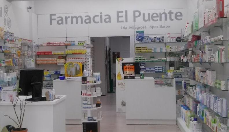 FARMACIA EL PUENTE. LDA. MILAGROSA LÓPEZ BARBA