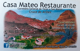 CASA MATEO RESTAURANTE